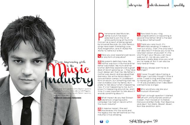 Jamie Cullum Slik Magazine