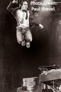 Jamie jumping