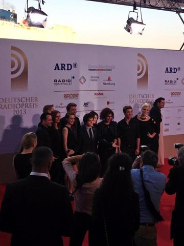 Jamie Cullum on the red carpet