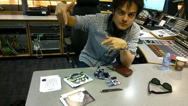 Jamie cullum in studio